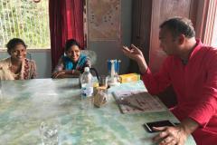 Besuch in Newasa